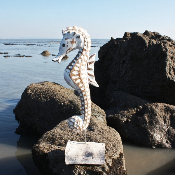 Giant Seahorse Wooden Seahorse Hand Carved Seahorse